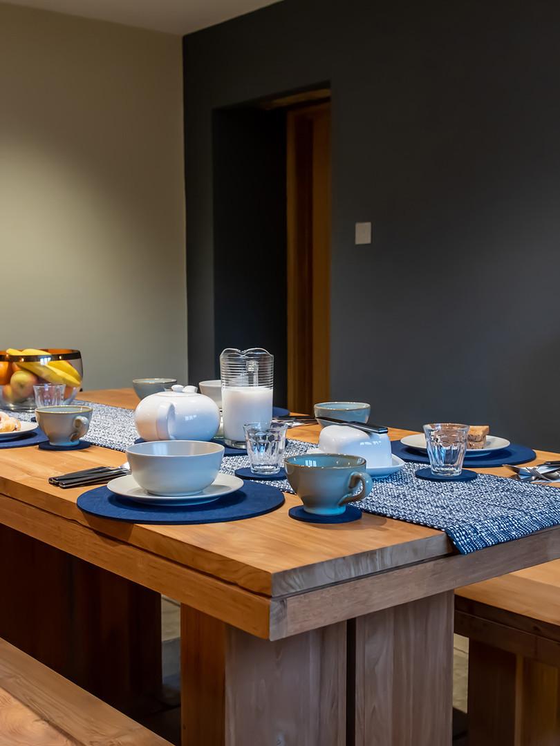 Finch Cottage Breakfast Table Spread