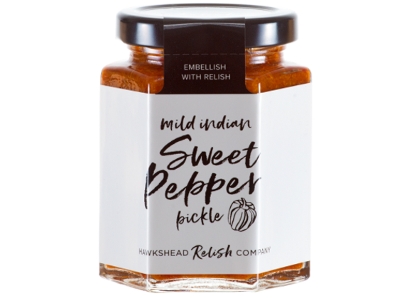 Mild Indian Sweet Pepper Pickle