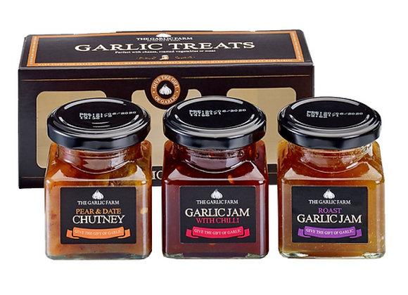 Garlic Condiment Treats Gift Set
