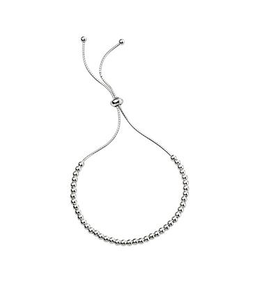 Silver Bead Friendship Bracelet