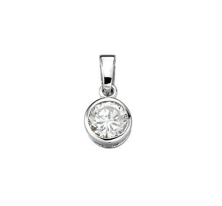 Cubic Zirconia Round Necklace