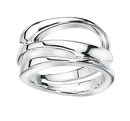Silver Layers Ring