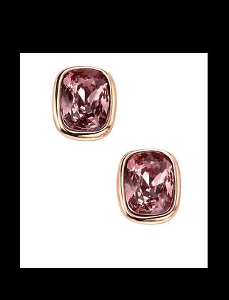 Antique Pink Swarovski Crystal Stud Earring
