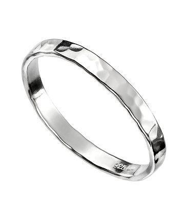 Silver Hammered Love Band