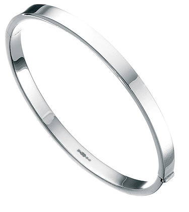 Square Cut Round Bangle