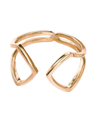 Gold Open Loop Ring