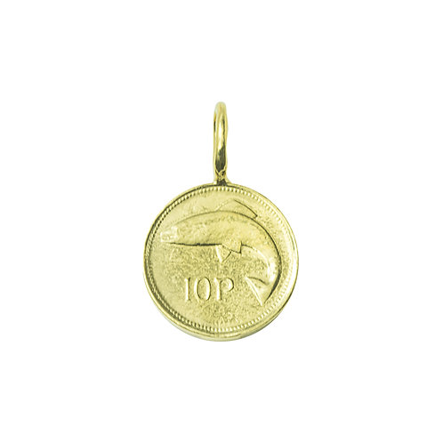 Irish 10p Coin Charm