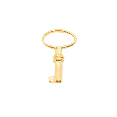 Sample Sale Yellow Gold Plated Baby key