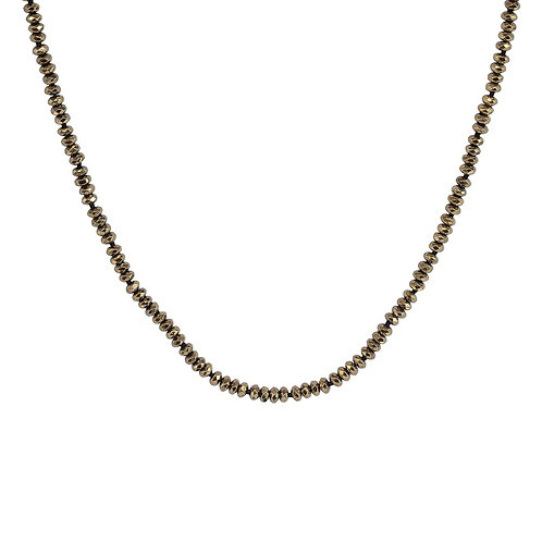 Pyrite Crystal Necklace