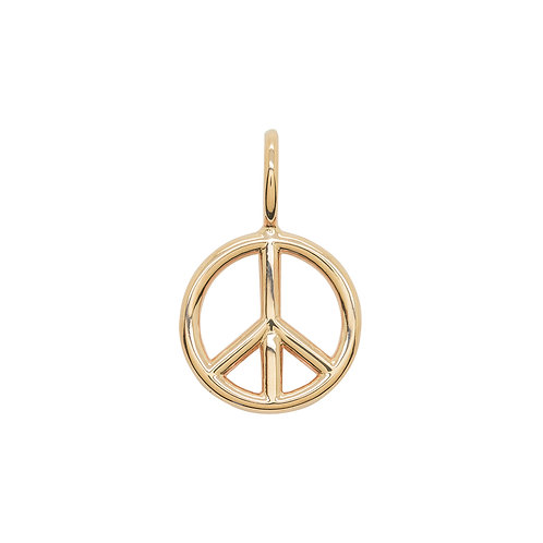 KMM Peace Sign - Small Rose Gold