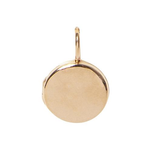 Locket Rose Gold Plated Large Round