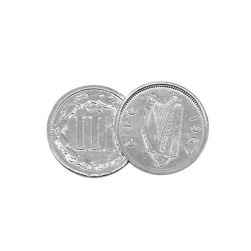 Double Irish/American Pendant