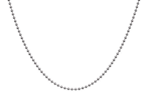 Silver Bead 20 inch chain