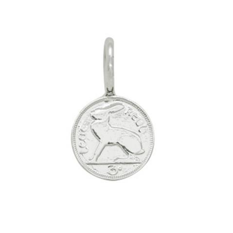 Irish 3d Coin Charm