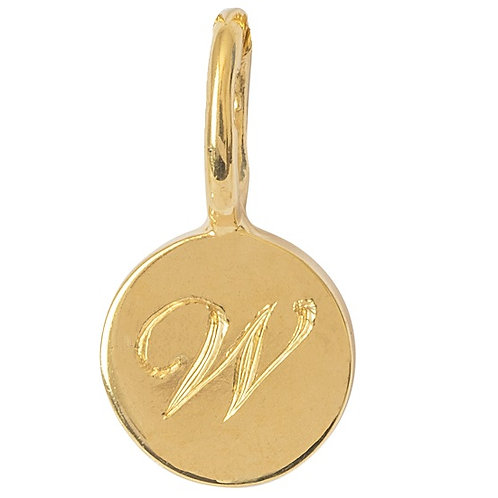 Gold 9 Carat Personalised Initial Charm