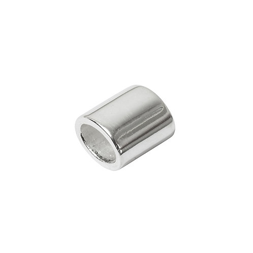 Sliding Oval Small Silver