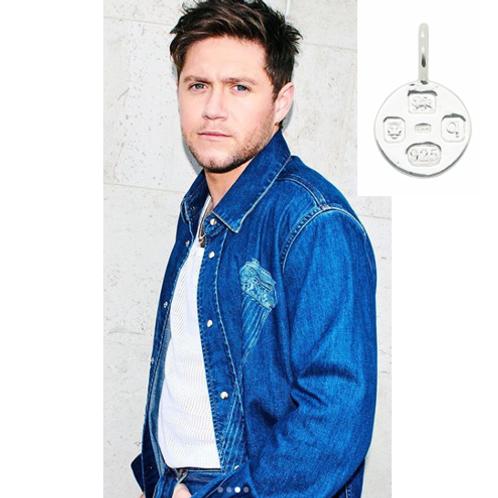 Niall Horan KMM Silver Medium Hallmarking Circle
