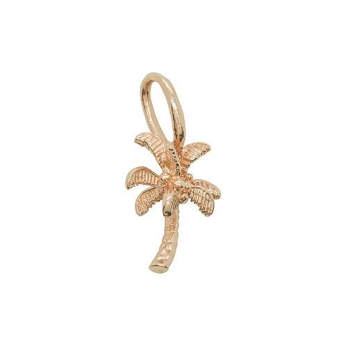Sample Sale Rose Gold Plated Palm Tree Charm