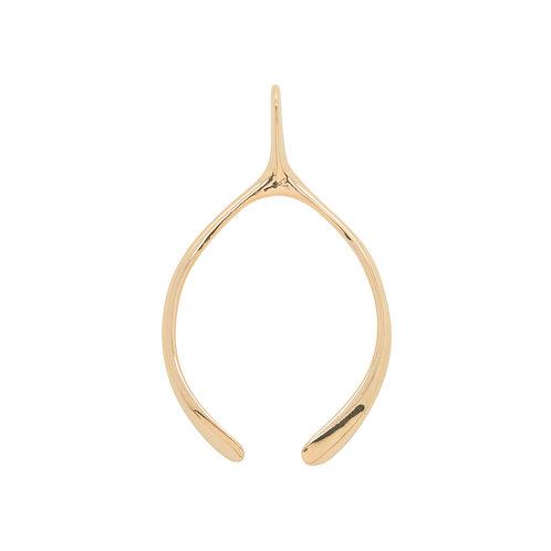 Large Wishbone - Rose Gold
