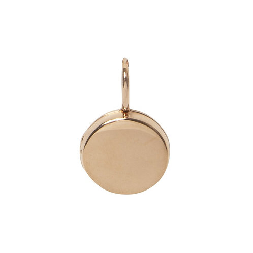 Locket Rose Gold Plated Small Round
