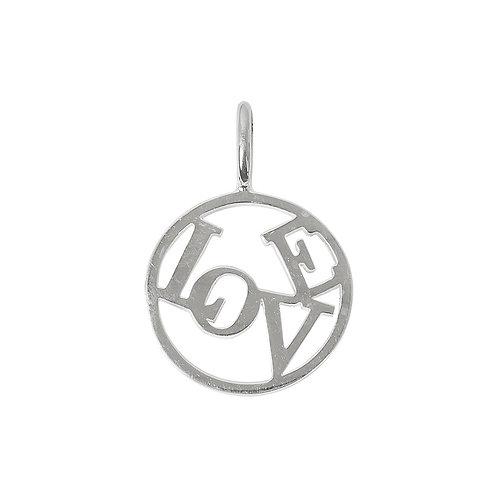 Love Medallion - Medium