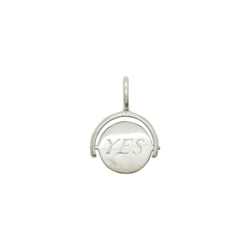 Katie Mullally Yes/No Choice Silver Charm dEmrXUhaA