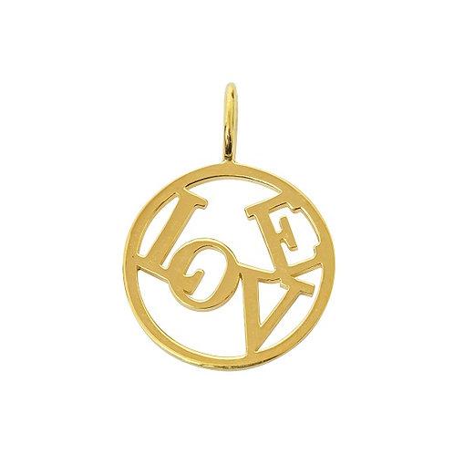Love Medallion - Large