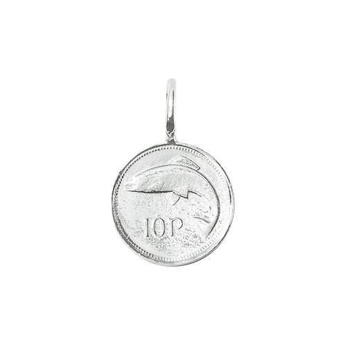 10p Coin Charm
