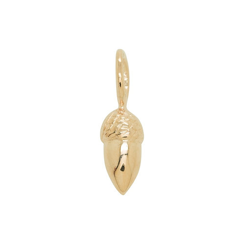 Sample Sale Rose Gold Plated Acorn Charm