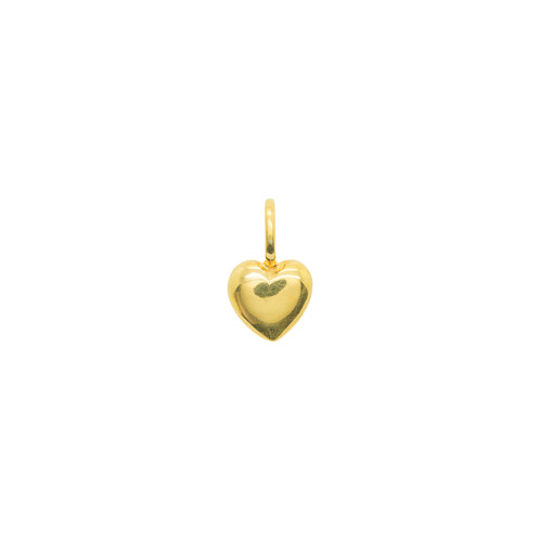 Katie Mullally Beaten Heart Gold Plated Charm xAGgNGu2