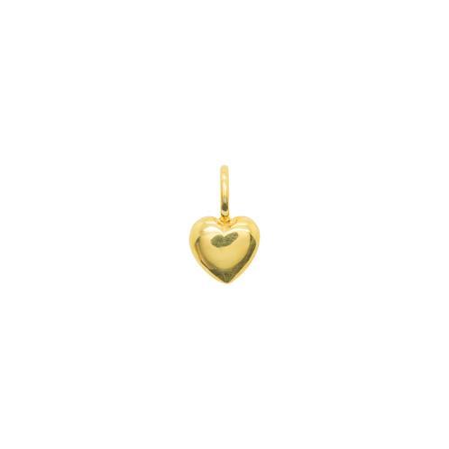 Katie Mullally Beaten Heart Gold Plated Charm