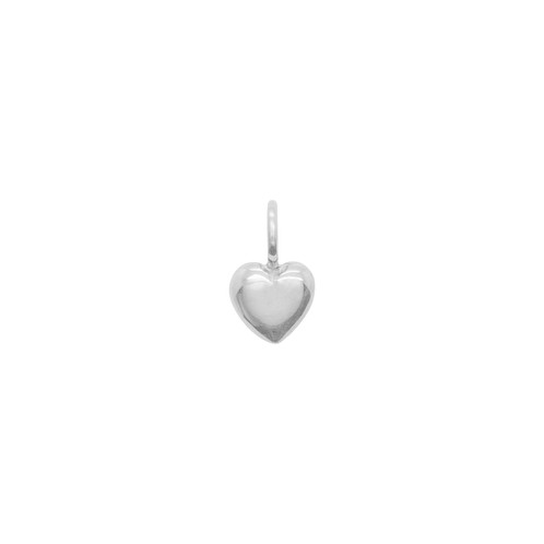 Katie Mullally Beaten Heart Silver Charm K45JqQLuql