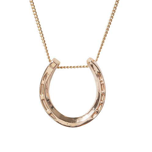 Sample Sale Rose Gold Plated Large Horseshoe