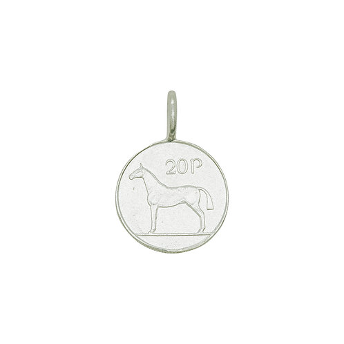 Irish Twenty Pence Charm