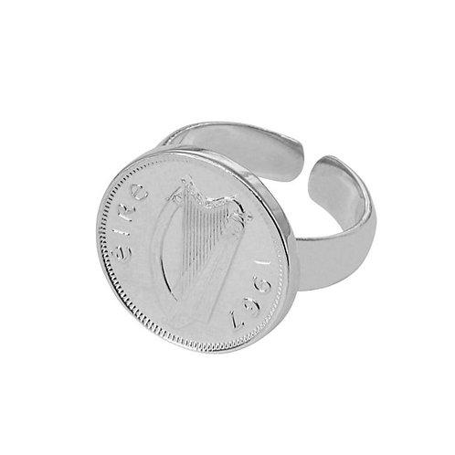 Silver Harp ring - Adjustable