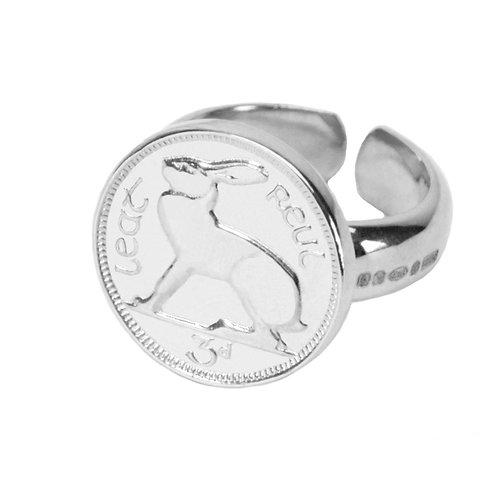 KMMxDublin Silver 3d ring - Adjustable