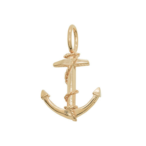 Sample Sale Rose Gold Plated Anchor Pendant