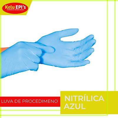 Luva Nitrilica Azul.png
