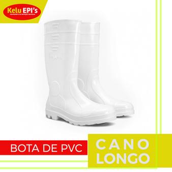 BOTA DE PVC CANO LONGO