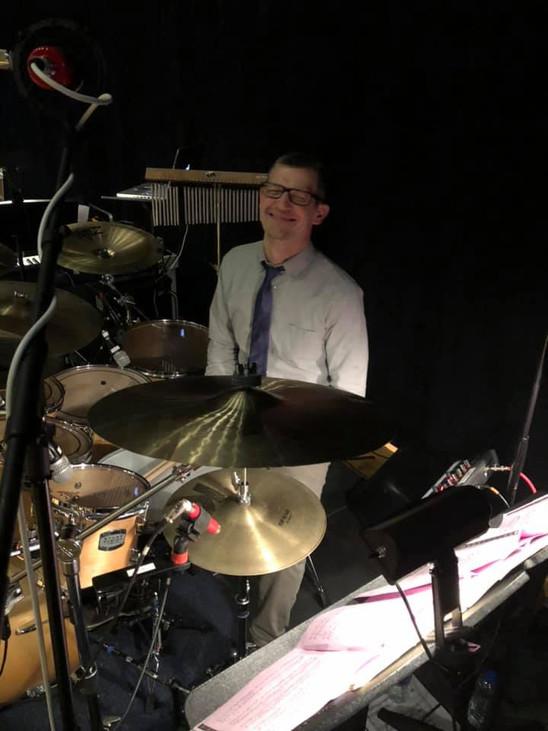 Jon Crabiel, master percussionist
