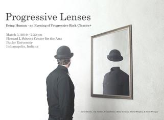 Magritte Poster, Progressive Lenses