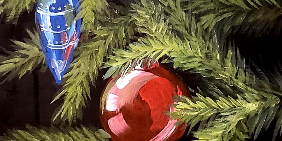 MASTERCLASS Painting Christmas Ornament