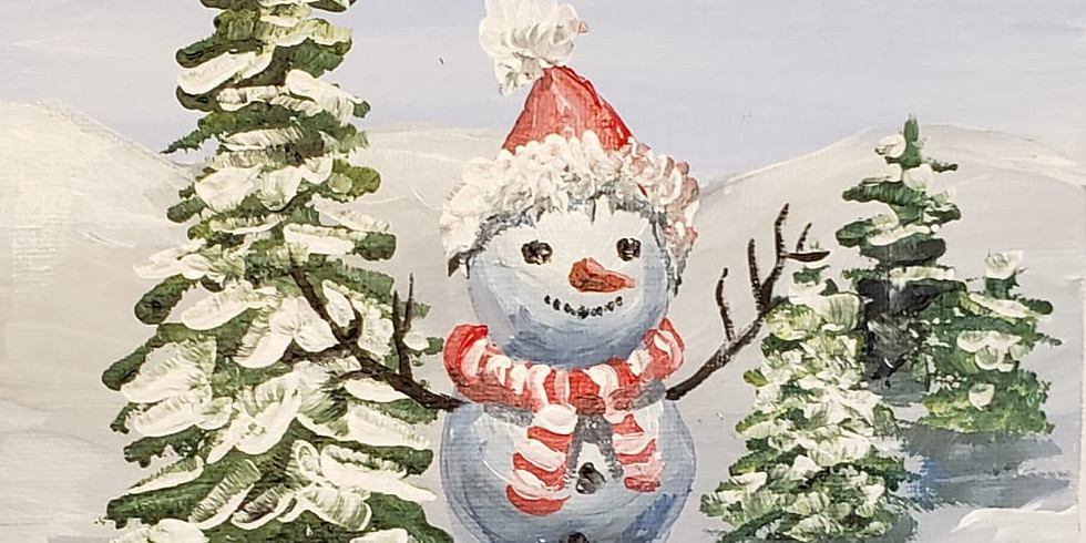 MASTERCLASS Painting The Happy Snowman