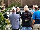 Bob Mahler of Kifu Bonsai conducts workshop with Maryland Bonsai Association Members