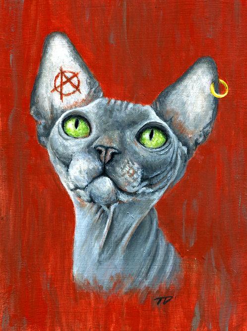 Rebel Cat Prints