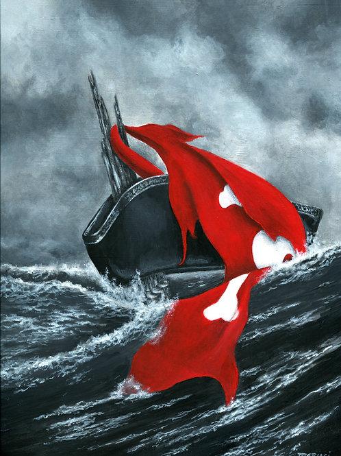 """""""Shipwreck""""  Print"""