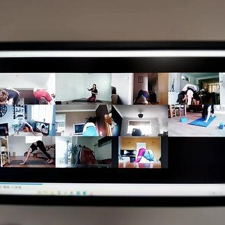 Namas Yoga online Yoga class Zoom Solihu