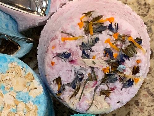 Chamomile & Iris Botanical Bath Bomb