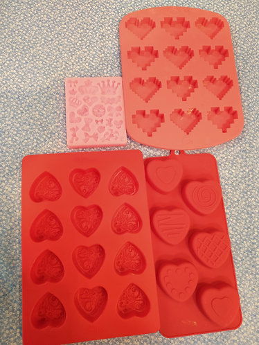 Build Your Own Soap Loaf (Hearts)
