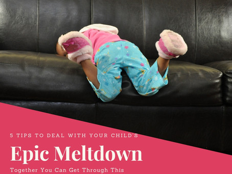 How to Cope When Your Threenager has an Epic Meltdown